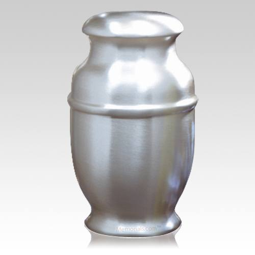 Spun Steel Cremation Urn