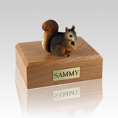 Squirrel Medium Cremation Urn