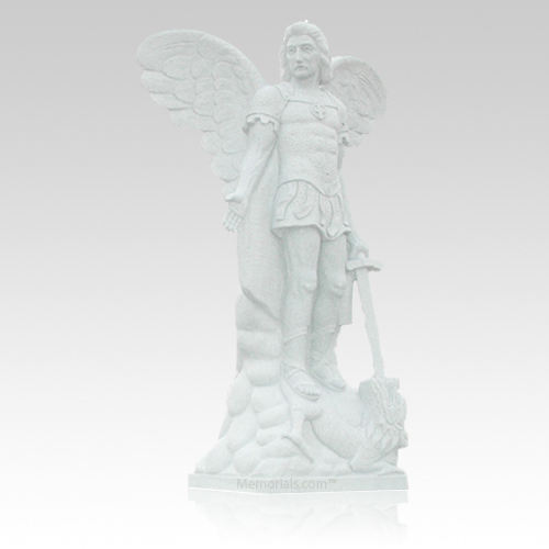 St. Michael Granite Statue