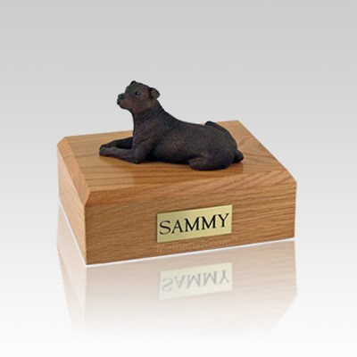 Staffordshire Terrier Medium Dog Urn