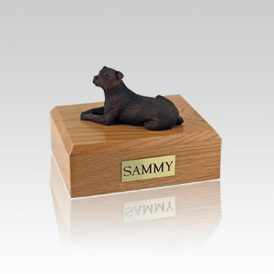 Staffordshire Terrier Small Dog Urn