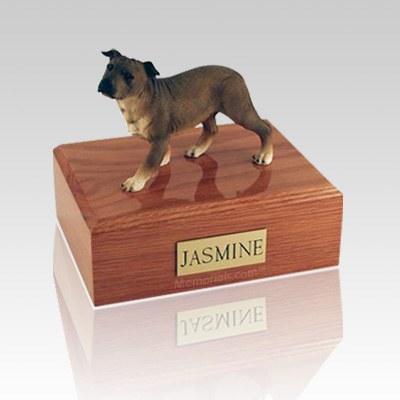 Staffordshire Terrier Standing Large Dog Urn