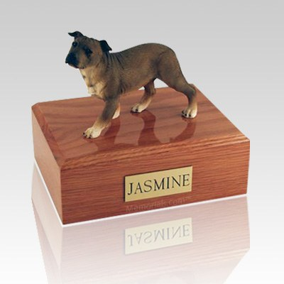 Staffordshire Terrier Standing X Large Dog Urn