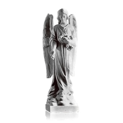 Standing Angel Small Marble Statues