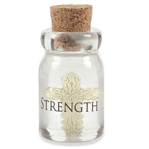 Strength Bottle Keepsake Charms