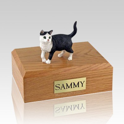 Tabby Standing Large Cat Cremation Urn