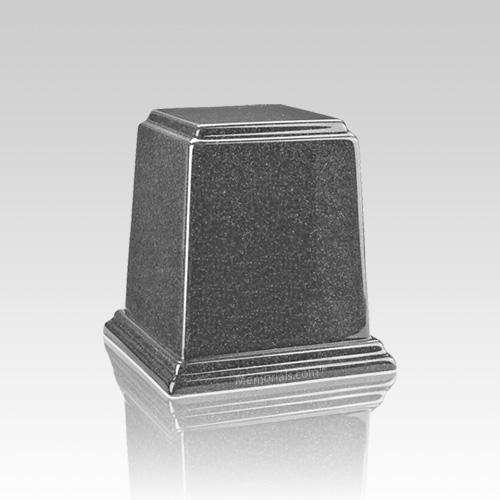 Temple Gray Mini Marble Urn