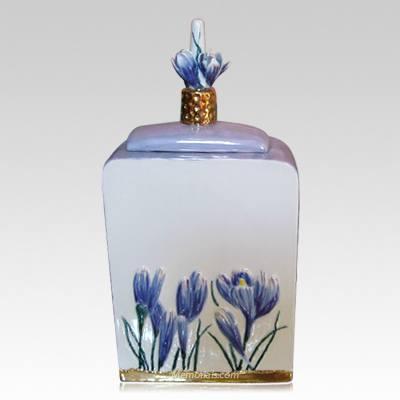 Terrestrial Ceramic Cremation Urn