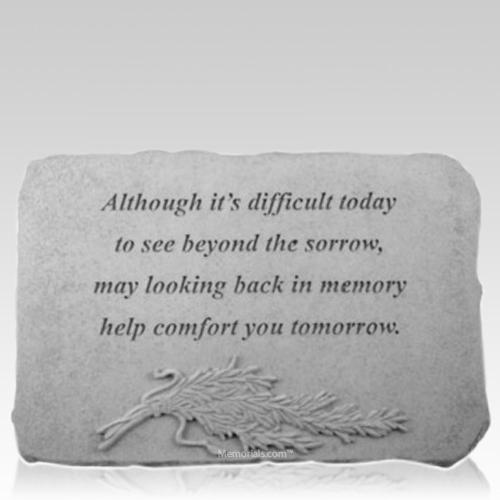 Tomorrow Rosemary Memorial Stone