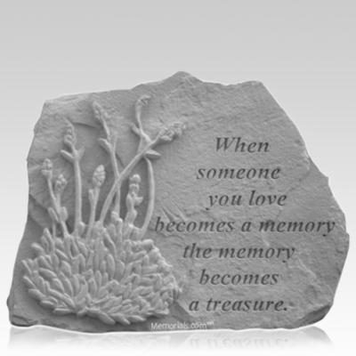 Treasure Lavender Memorial Stone