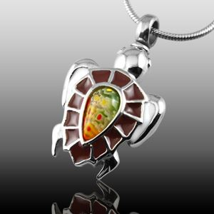 Turtle Shell Cremation Jewelry