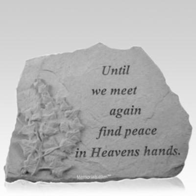 Until Ivy Memorial Stone