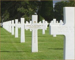 Veteran Cross Memorial Stone