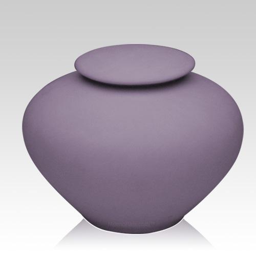 Violet Ray Large Porcelain Clay Urn