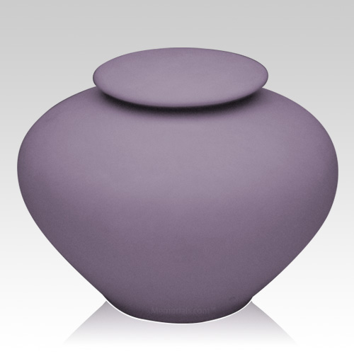 Violet Ray Companion Porcelain Clay Urn