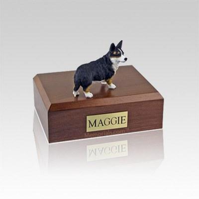 Welsh Corgi Cardigan Small Dog Urn