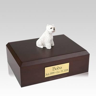 West Highland Terrier Large Dog Urn