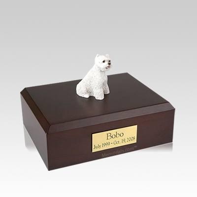West Highland Terrier Medium Dog Urn