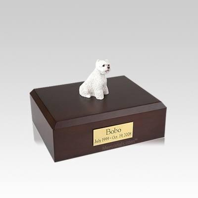 West Highland Terrier Small Dog Urn
