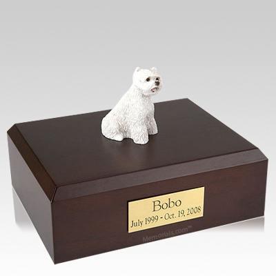 West Highland Terrier X Large Dog Urn