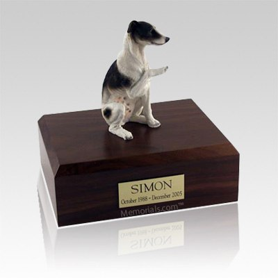 Whippet Brown Large Dog Urn