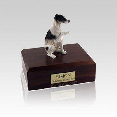 Whippet Brown Small Dog Urn