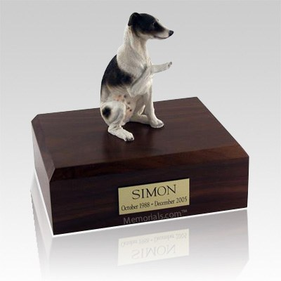 Whippet Brown X Large Dog Urn