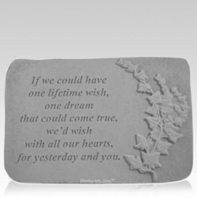 Wish Ivy Memorial Stone
