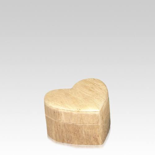 Wood Grain Unity Small Biodegradable Urn