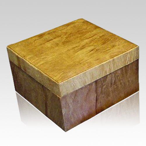 Woodland Natural Dog Cremation Urn