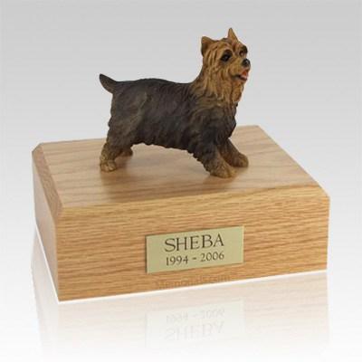 Yorkshire Terrier Walking Large Dog Urn