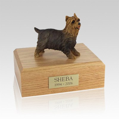 Yorkshire Terrier Walking Medium Dog Urn