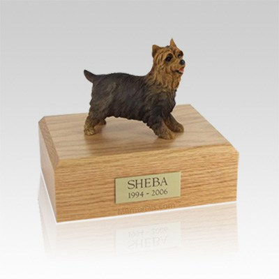Yorkshire Terrier Walking Small Dog Urn