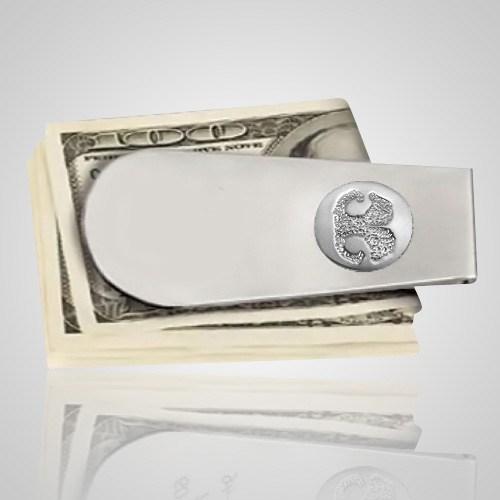 Pet Money Clip Print 14k White Gold Keepsakes