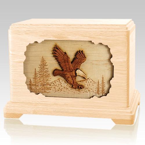 Eagle Maple Hampton Cremation Urn