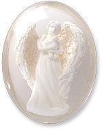 Protected by Angels Worry Keepsake Stones