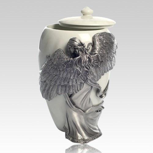 Embrace Angel Large Urn