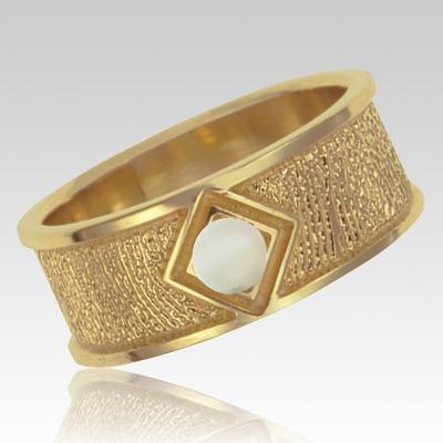 Opal 14k Yellow Gold Ring Print Keepsake