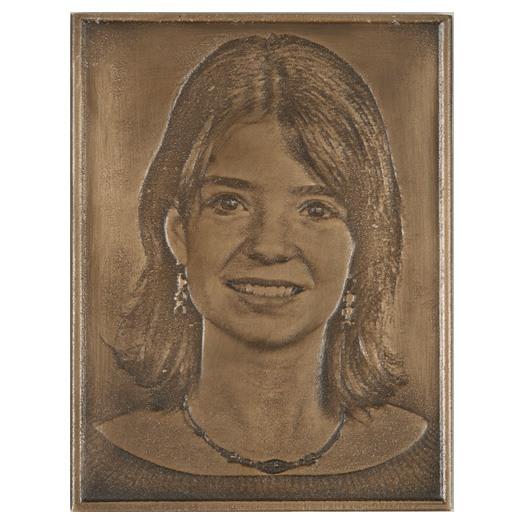 Bronze Grave Marker Picture III