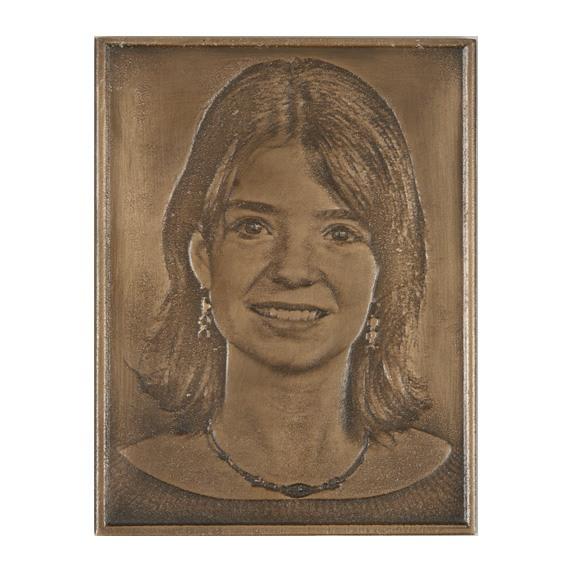 Bronze Grave Marker Picture