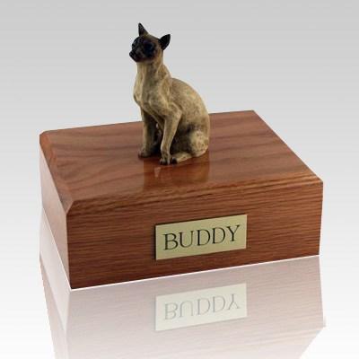 Siamese Tan Cat Cremation Urns