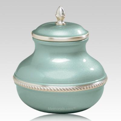 Green Silverado Small Cremation Urn