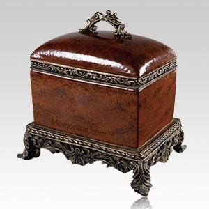 Olde World Chest Porcelain Cremation Urn