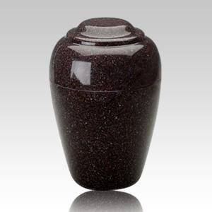 Grecian Kodiak Brown Granite Cremation Urn