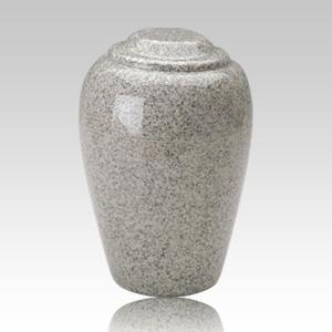 Grecian Mist Gray Granite Cremation Urn