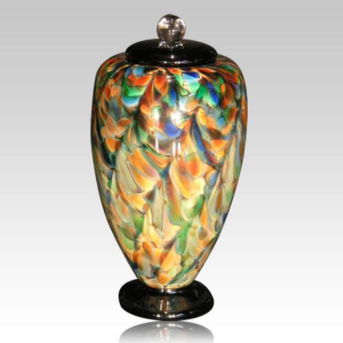 Carnival Glass Cremation Urn