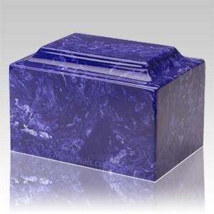 Cobalt Marble Individual Urn