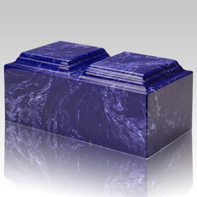 Cobalt Marble Companion Urn