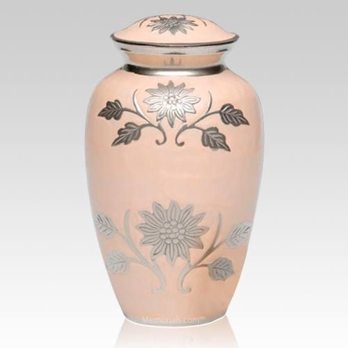 Peace Flower Cremation Urn