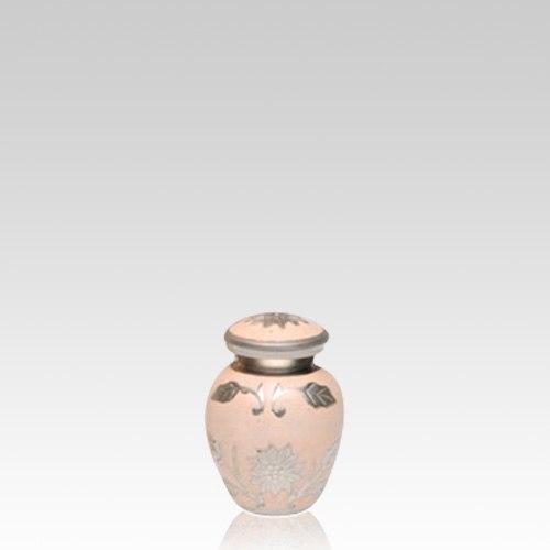 Peace Flower Keepsake Cremation Urn